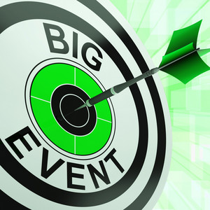 Big Event Target Shows Upcoming Occasion