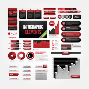 Big Set Of Infographics Elements. Eps10.