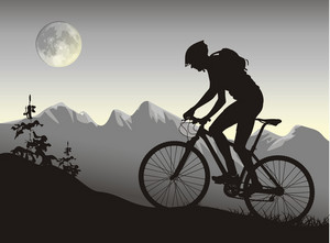 騎自行車的人騎自行車