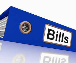 Bills File Shows Accounting And Payments Due