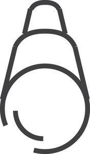 Binocular Minimal Icon