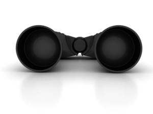 Binoculars - Seeing Money Concept