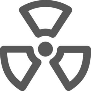 Biohazard Stroke Icon
