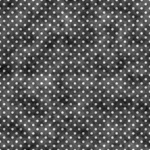Black And White Polka Dot Chalkboard Pattern