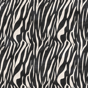 Black And White Zebra Print Chalkboard Safari Pattern