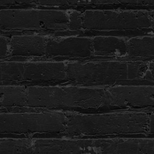Black Bricks Wall Texture Tile