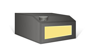 Black Container Vector