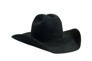 黑色牛仔帽