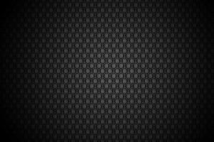 Black Floral Pattern