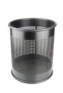Black Garbage Bin