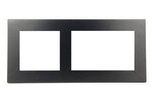 Black Photo-frame On White