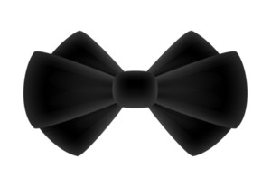 Black Ribbon Bow
