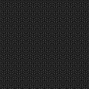 Black Seamless Pattern With Anchors