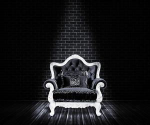 Black Sofa Interior Backdrop