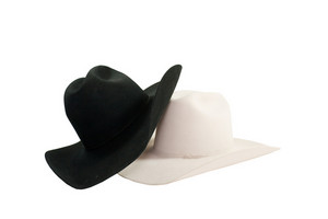 Black White Cowboy Hats