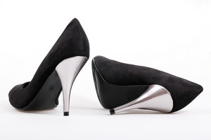 Black Women's Heel Shoes