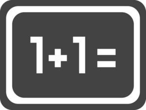 Blackboard Glyph Icon