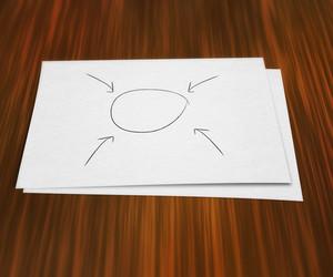 Blank Diagram On Paper