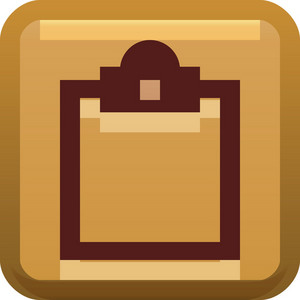 Blank Doc Brown Tiny App Icon