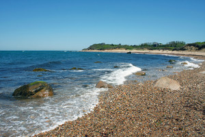 Block Island Beach Shoreline