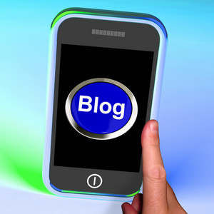 Blog Button On Mobile Shows Blogger Or Blogging Website