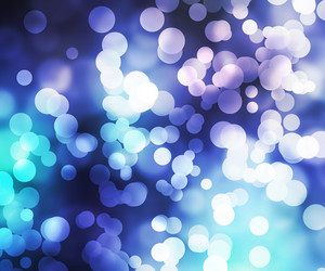 Blue Abstract Bokeh Backdrop