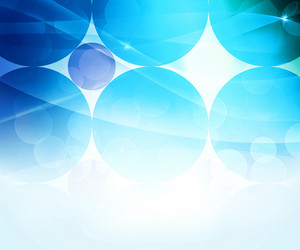 Blue Abstract Circle Background