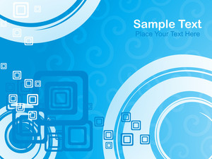 Blue Abstract Pattern Background