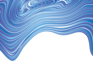 Blue Abstract. Vector Background.