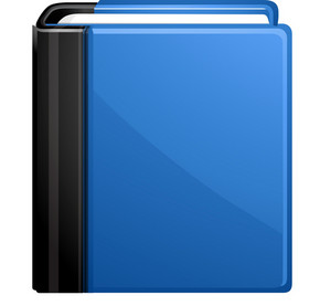 Blue Address Book