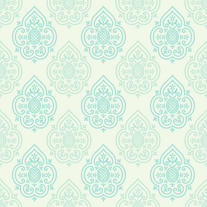 Blue And Grey Decorative Spades Pattern