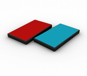 Blue And Red Cd Cover