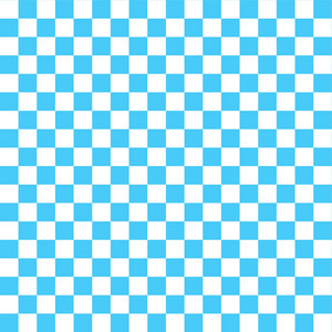 Blue And White Checkerboard Pattern On Dr. Seuss Paper