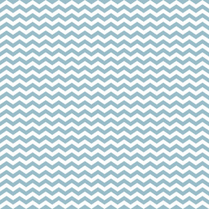 Blue And White Chevron Riverboat Pattern
