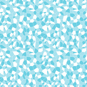 Blue And White Crystal Pattern On Frozen Inspired Paper