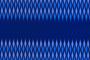 Pattern Art Blue