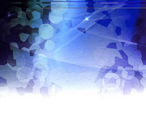 Blue Biological Abstract Background
