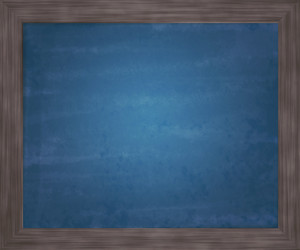 Blue Blackboard