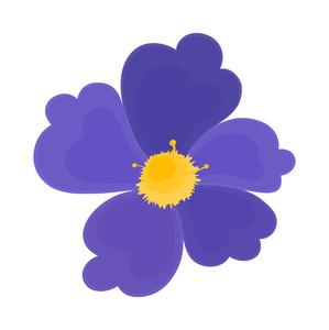 Blue Blossom Shape