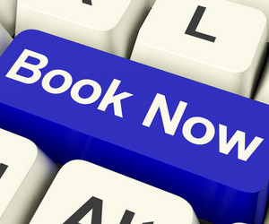 Blue Book Now Key For Hotel Or Flight Reservation Online