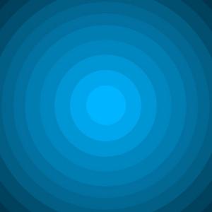 Blue Circle Background