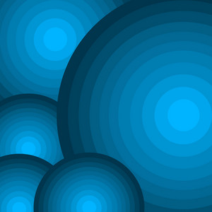 Blue Circles Background