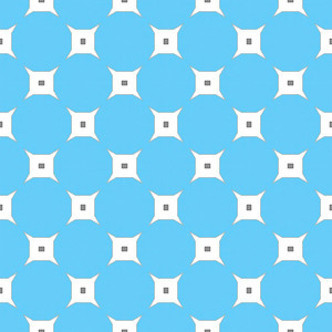 Blue Circles Pattern