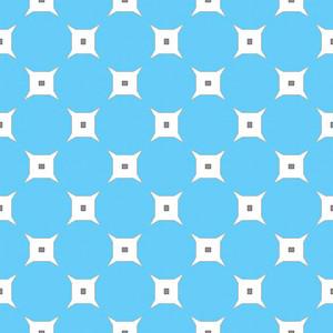 Blue Circles Pattern