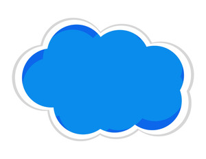 Blue Cloud Banner