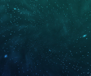 Blue Cosmic Texture