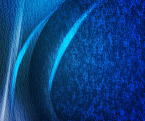 Blue Digital Abstract Background