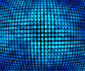 Blue Disco Background Texture
