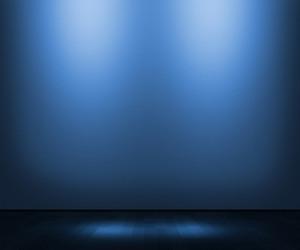 Blue Empty Interior Background