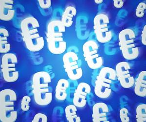 Blue Euro Background